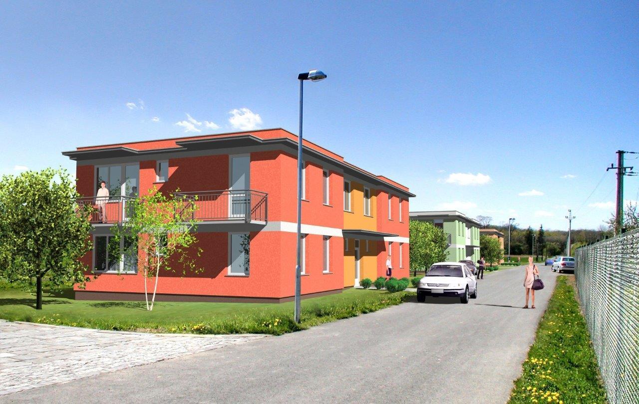 Nové byty 1+kk v Záříčí u Kroměříže